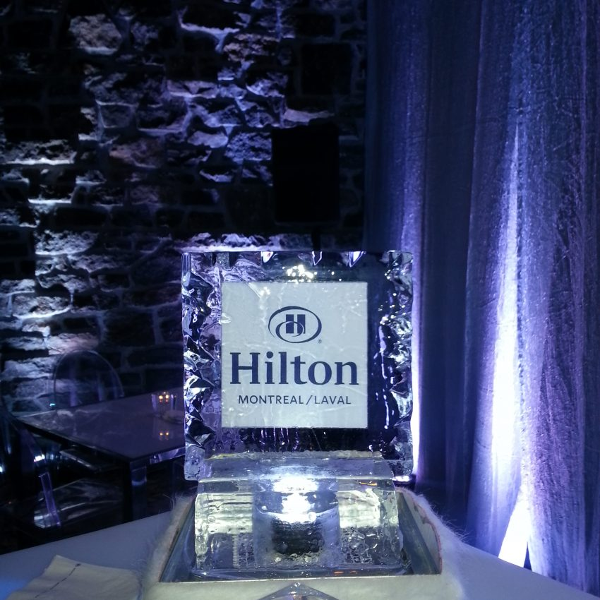 Ice centerpiece